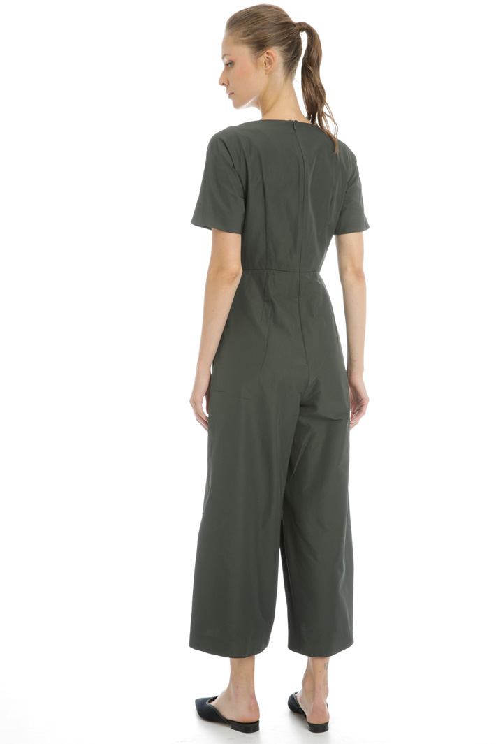 Cotton twill jumpsuit Intrend
