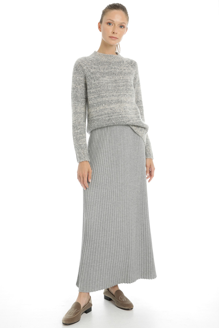 Pleated knit skirt Intrend