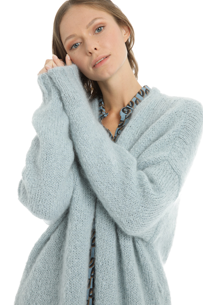 Mohair cardigan Intrend