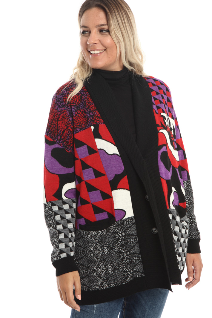 Viscose and wool cardigan Intrend
