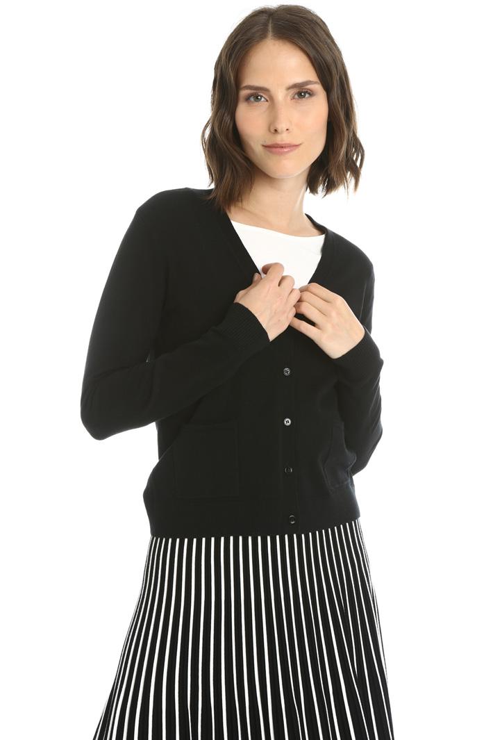 Silk and wool cardigan Intrend