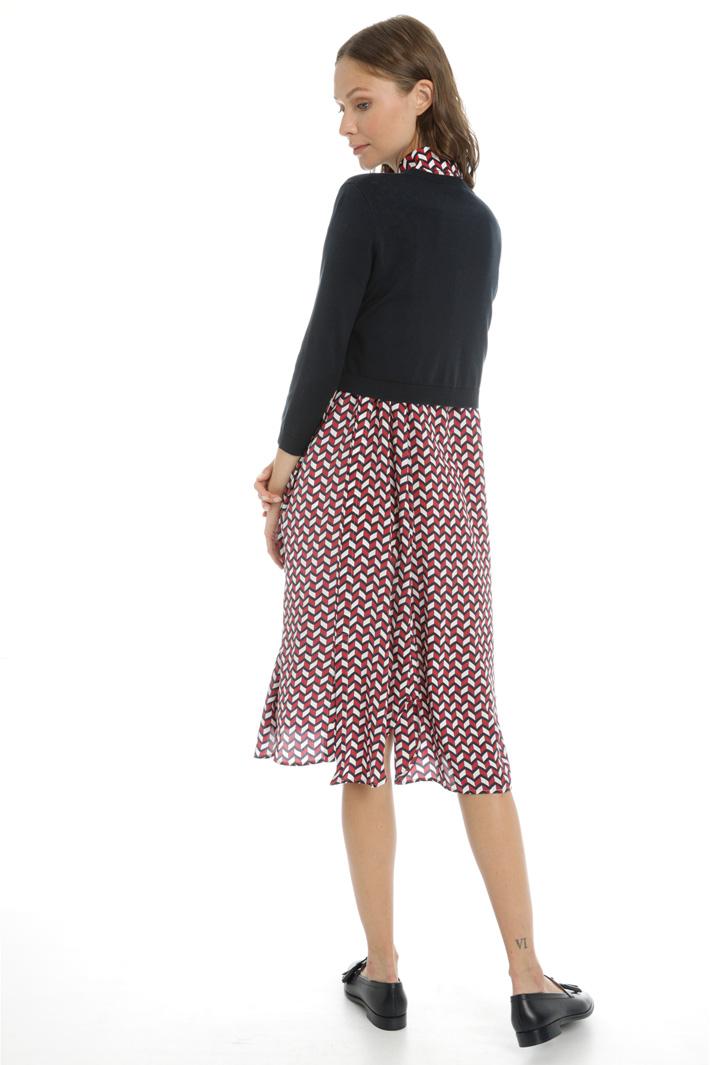 Boxy fit silk blend cardigan Intrend
