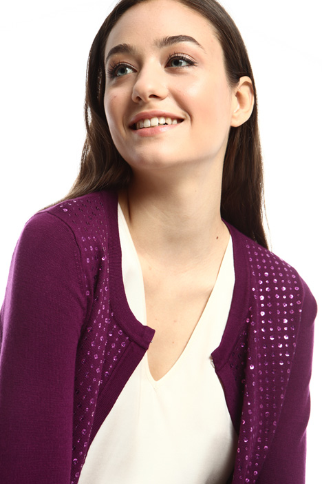 Sequinned cardigan Intrend