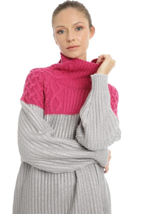 Mix stitch pullover Intrend