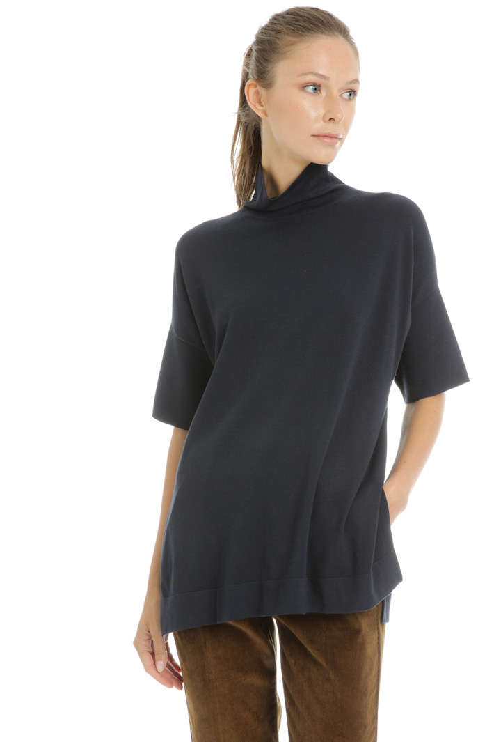 Sweater with soft neck Intrend