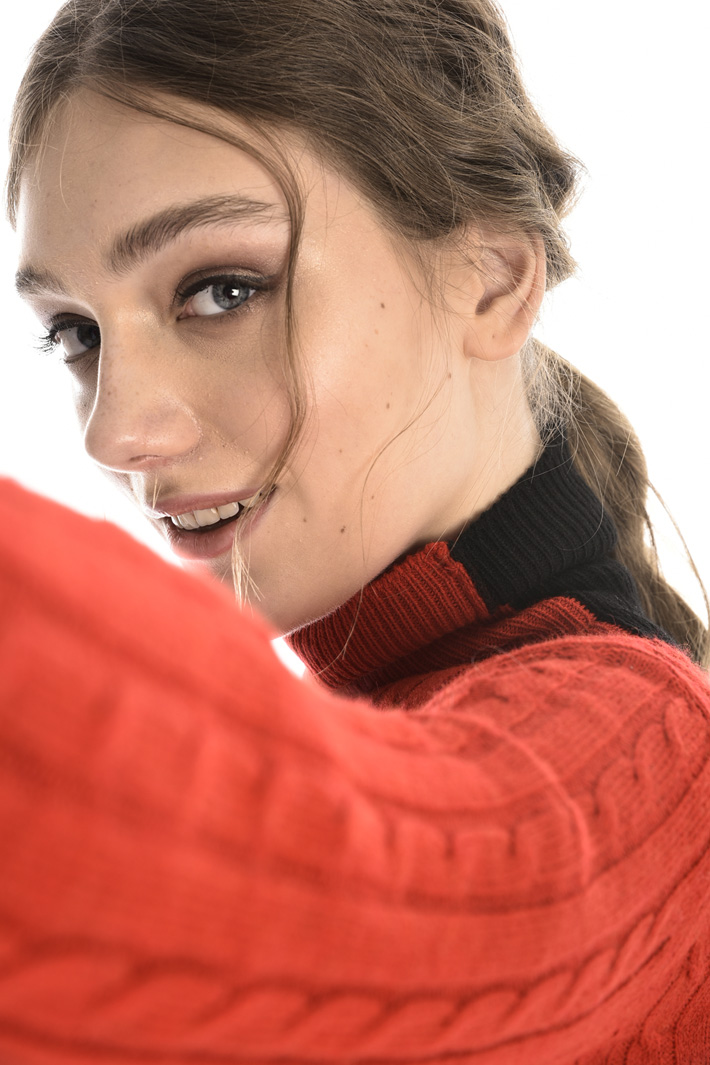 Wool blend turtleneck Intrend