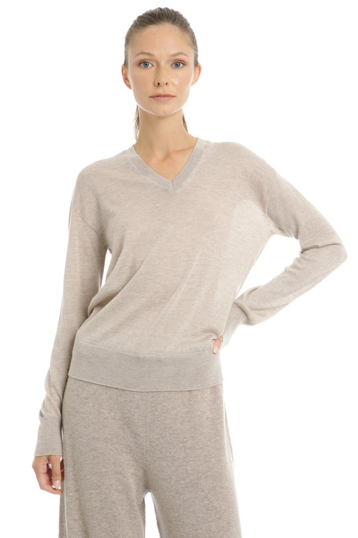 Wool yarn jumper Intrend