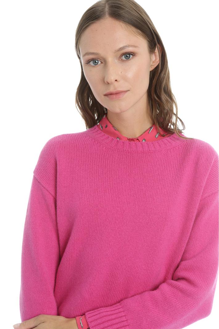 Cashmere yarn jumper Intrend