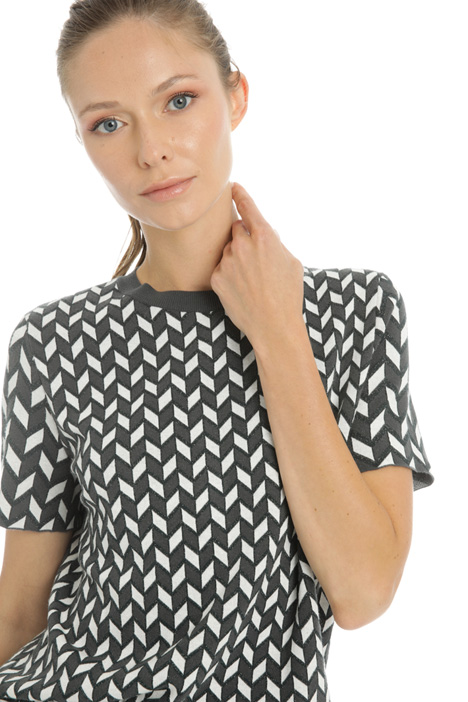 Viscose short sleeve sweater Intrend