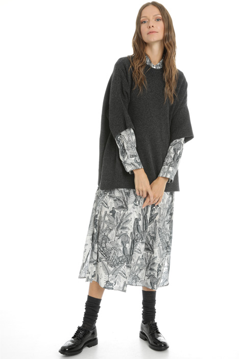 Dropped sleeve sweater Intrend