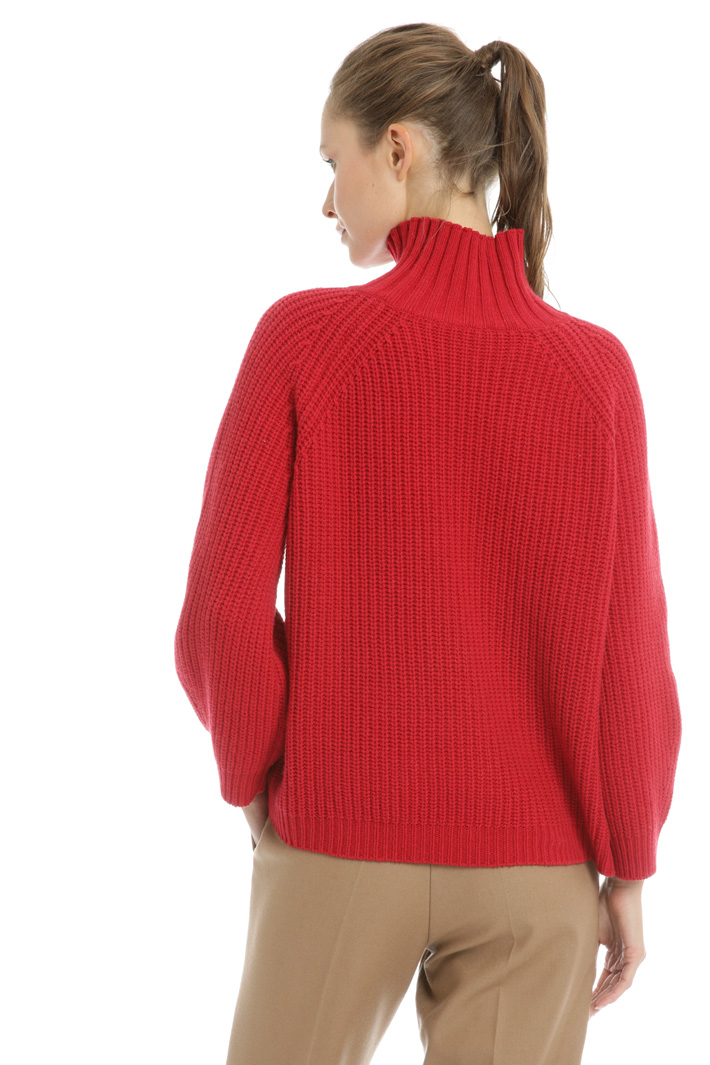 High neck wool sweater Intrend