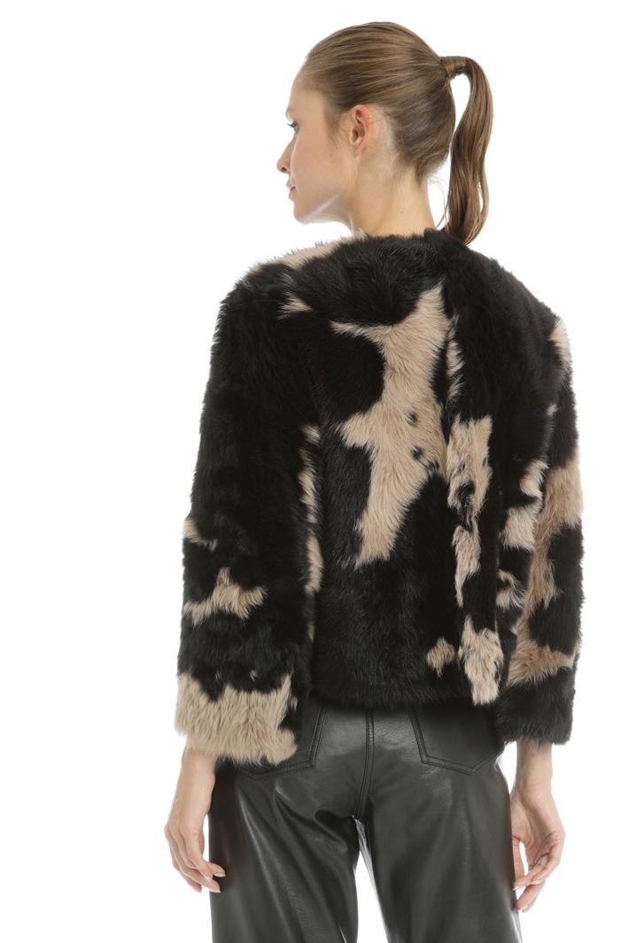 Mutton fur jacket  Intrend