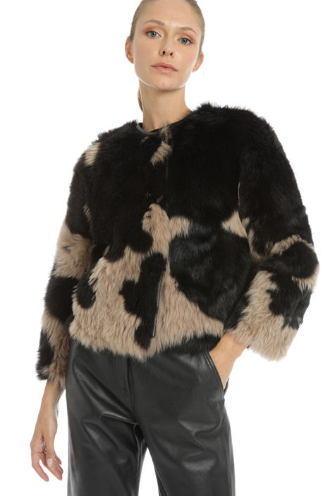 Mutton fur jacket  Intrend
