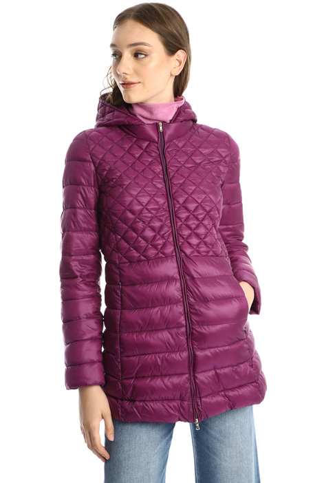 Quilted long coat Intrend