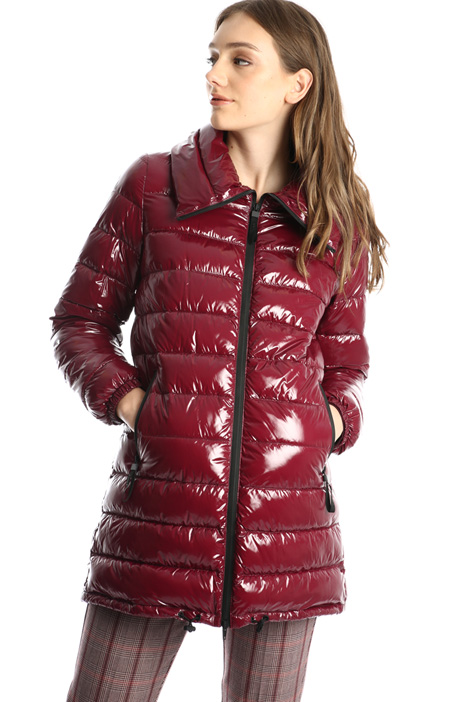 Shiny padded coat Intrend