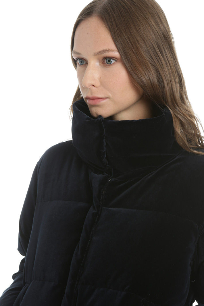 Velvet padded jacket Intrend
