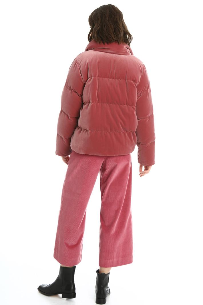 Velvet padded jacket Intrend