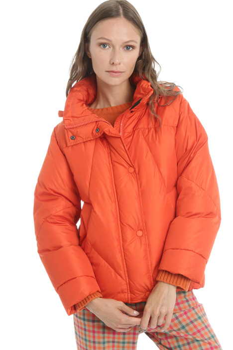 Hooded quilted jacket Intrend