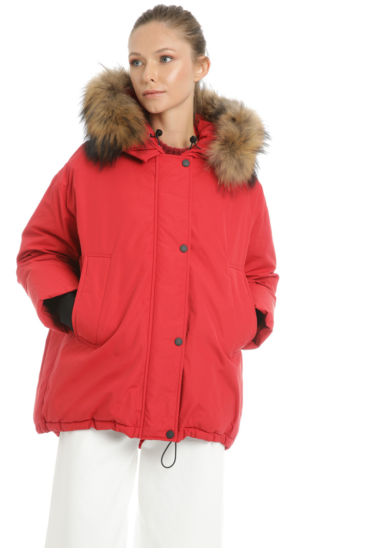 Padded coat Intrend