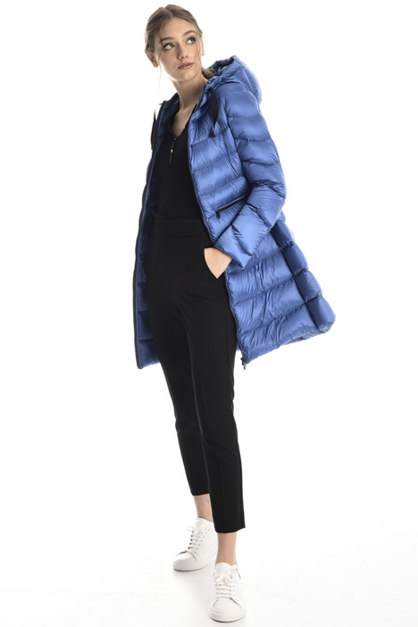 Quilted long puffer coat Intrend