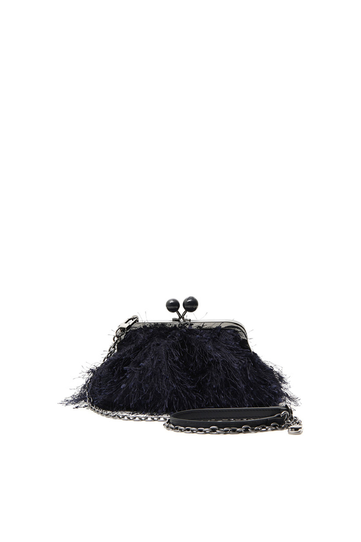 Mini Bag with feathers Intrend