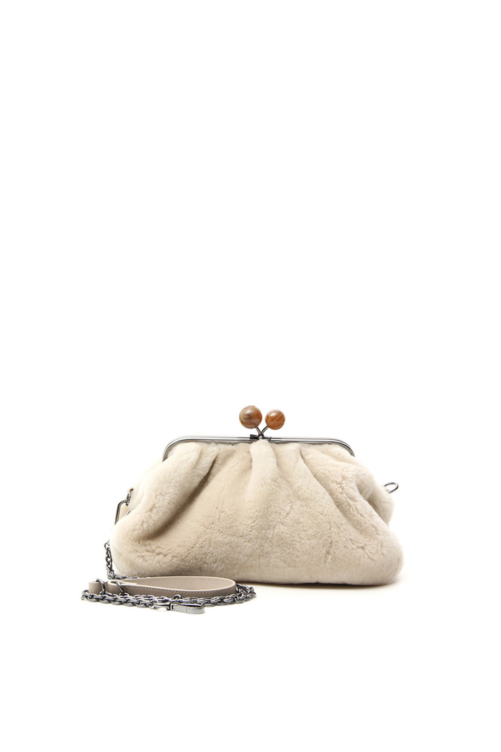 Clutch in pelliccia di montone Intrend