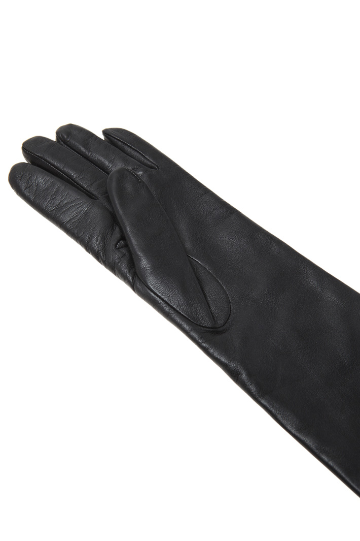 Nappa and wool gloves Intrend