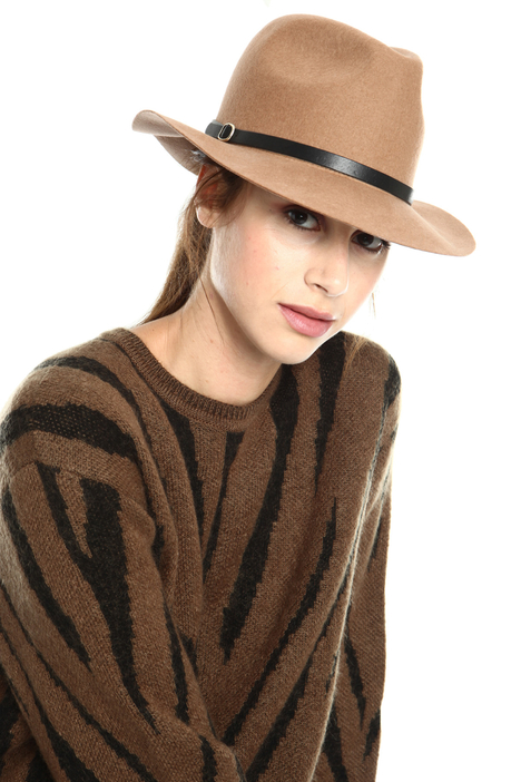 Pure wool fedora hat Intrend