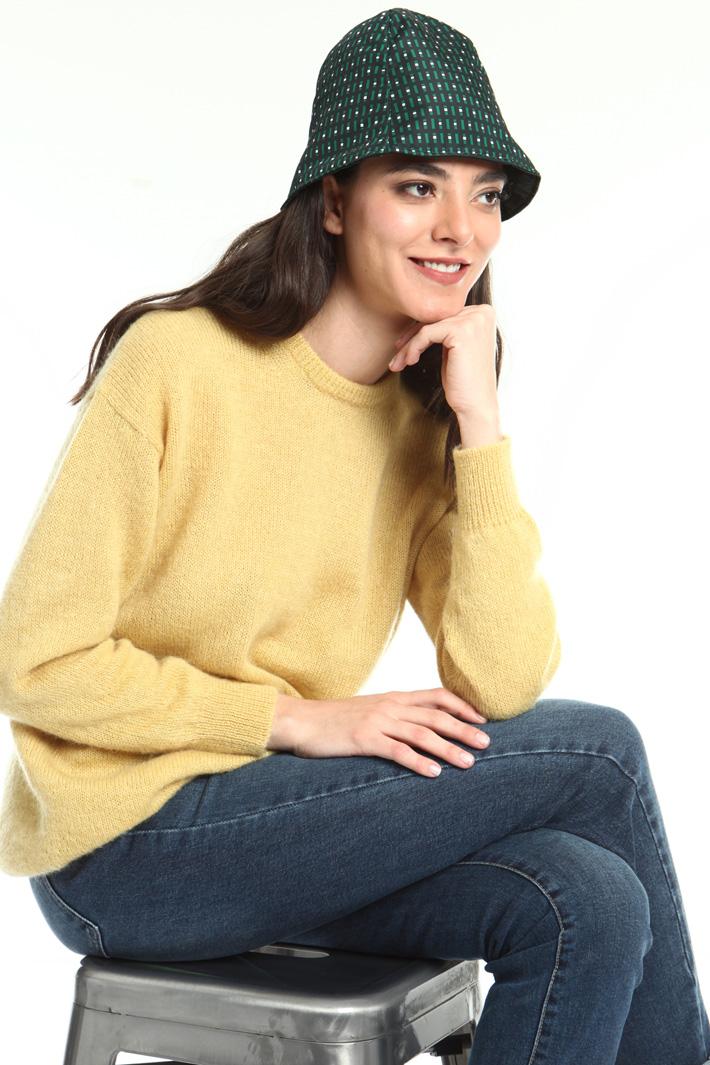 Printed hat Intrend