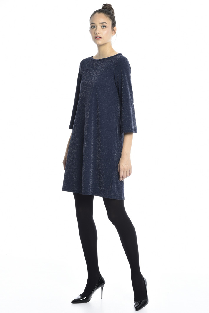 Oversized lurex dress Intrend
