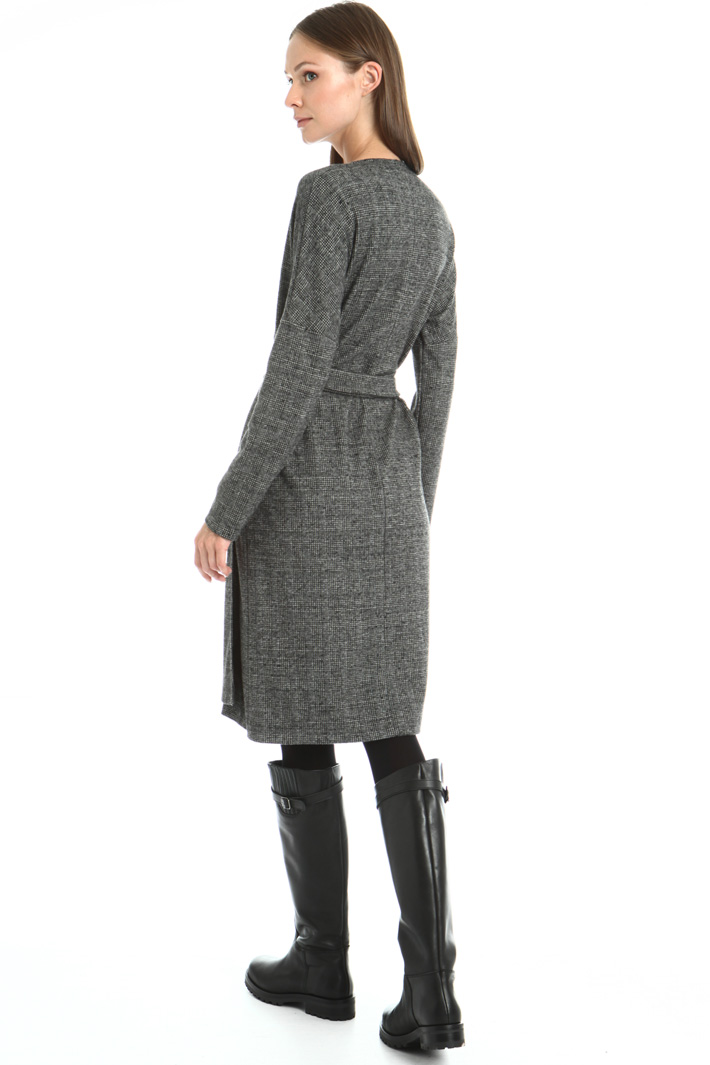 Wrap-up jersey dress Intrend