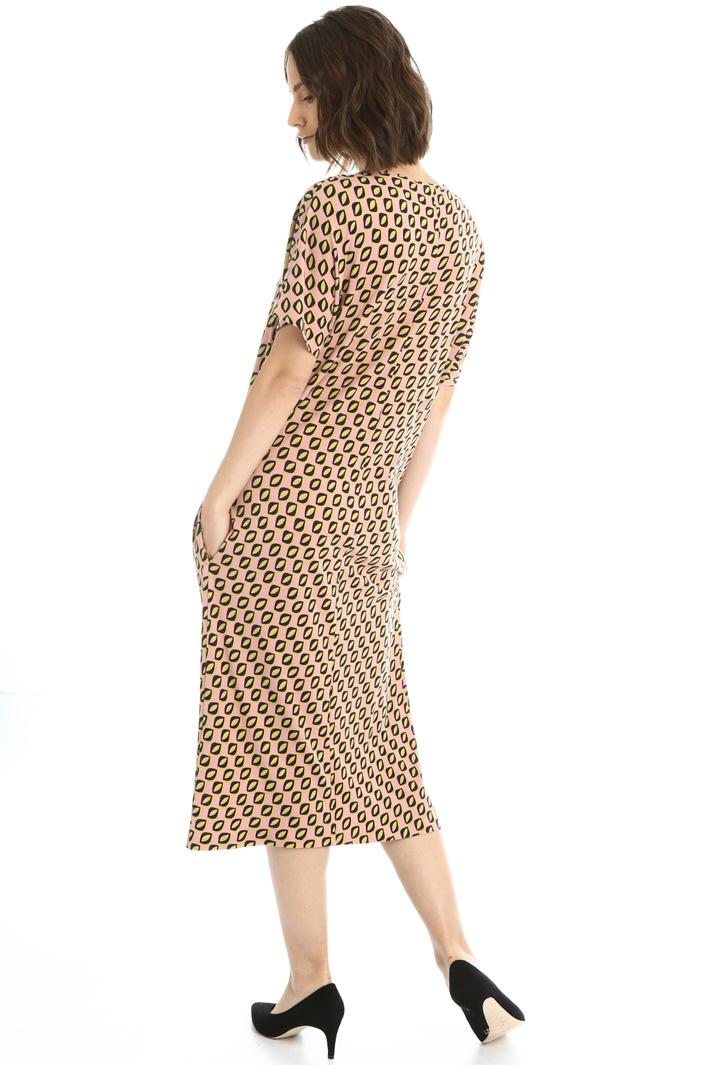 Printed stretch dress Intrend