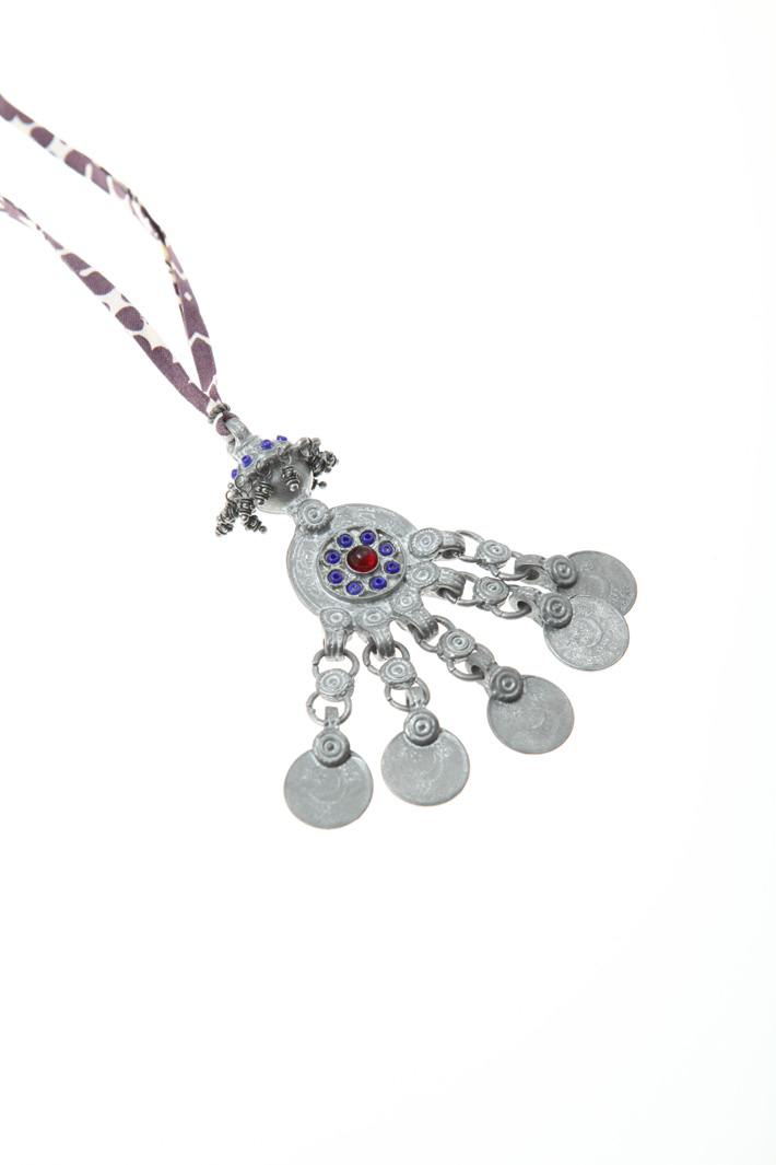 Metal charm necklace Intrend