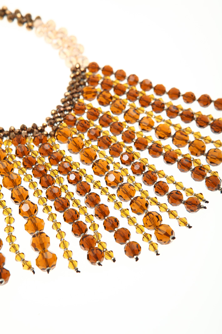 Glass necklace Intrend