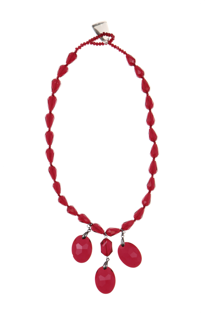 Necklace with glass drops Intrend