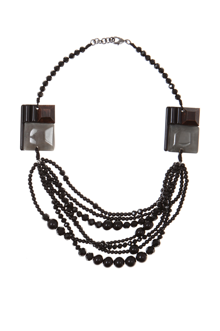 Resin chocker necklace Intrend