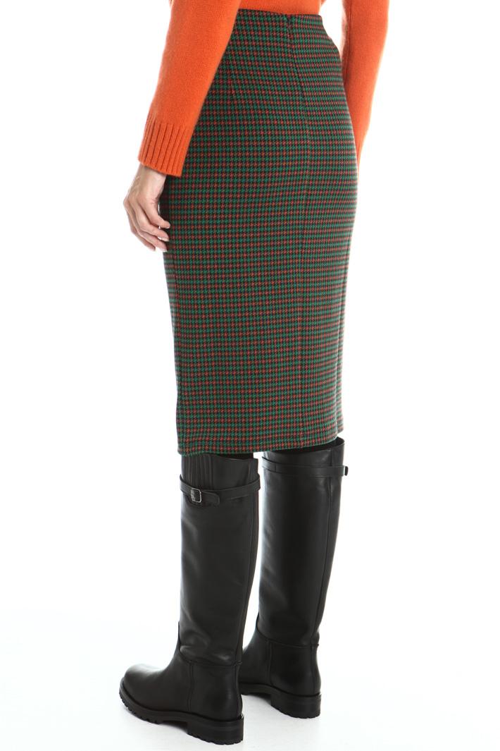 Jersey sheath skirt Intrend