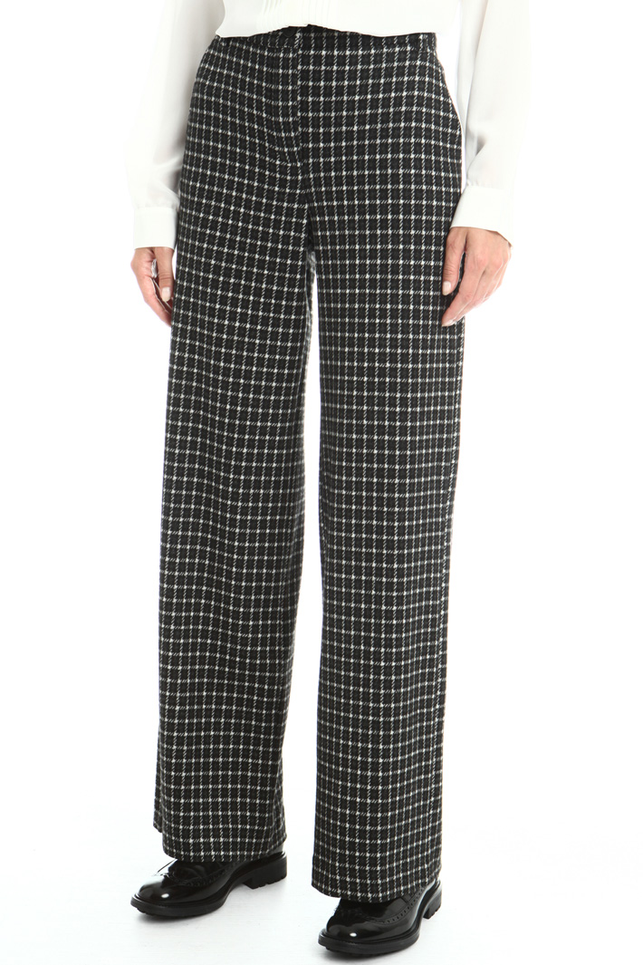 Flannel jersey trousers Intrend