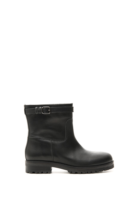 Leather biker boot Intrend