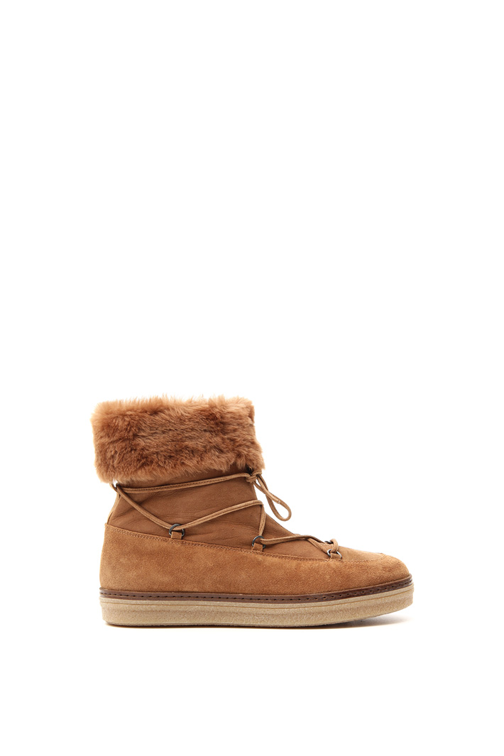 Suede boots Intrend