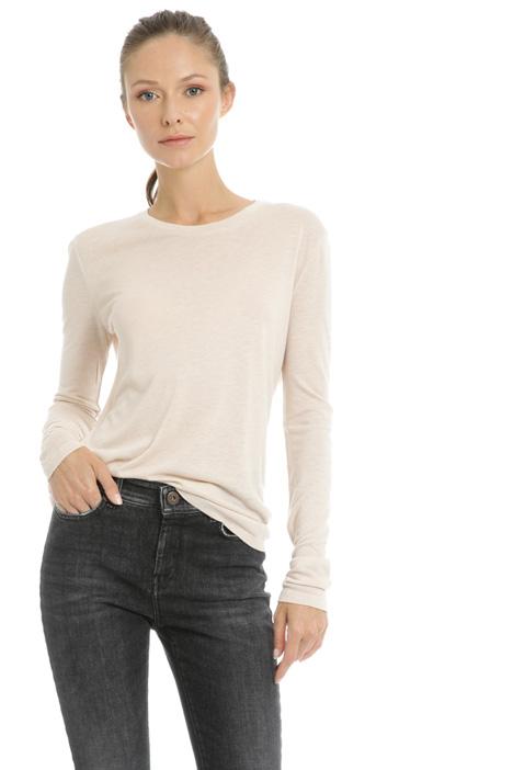 Gauze jersey sweater Intrend