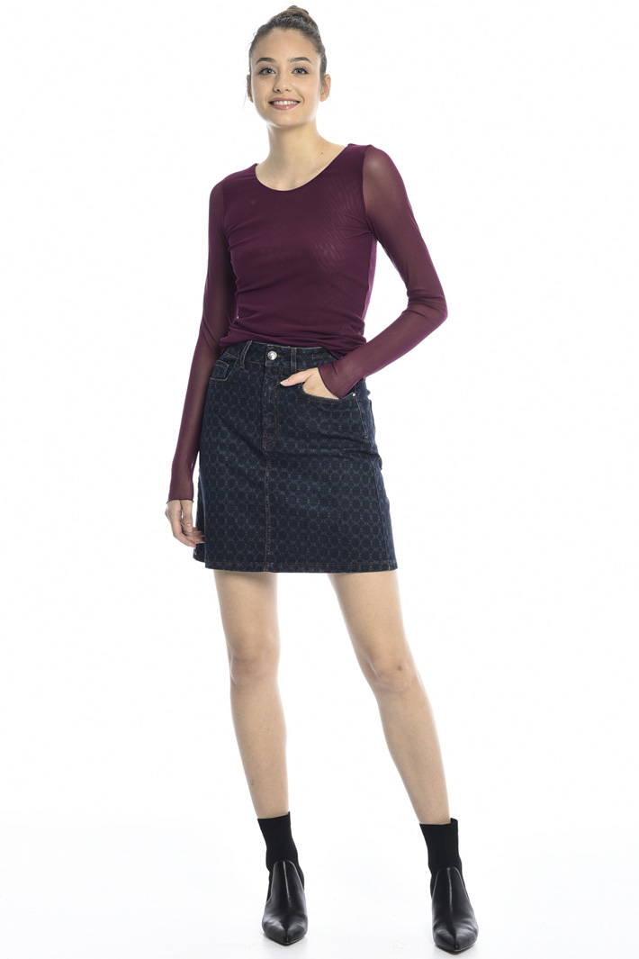 Tulle sweater Intrend