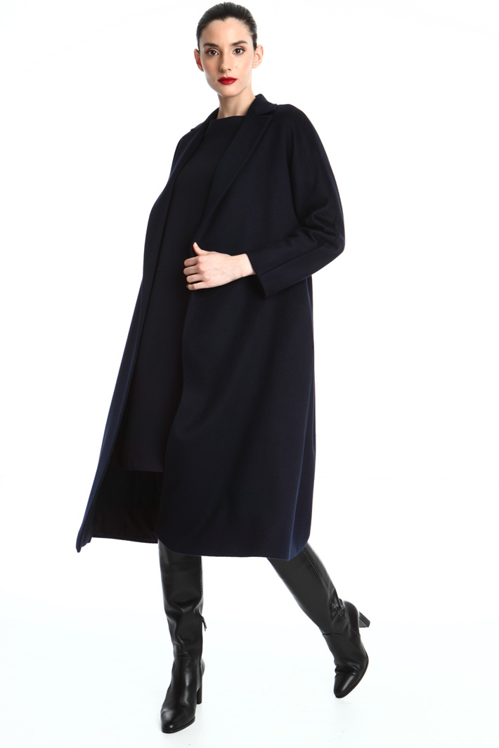 Camel and cashmere coat Intrend