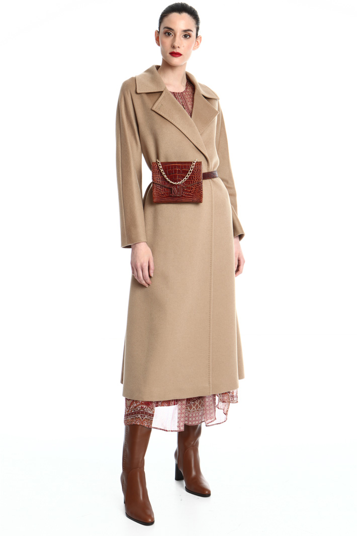 Cashmere broadcloth coat Intrend