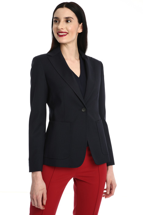 Wool and viscose blazer Intrend