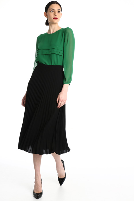 Pleated cady skirt Intrend