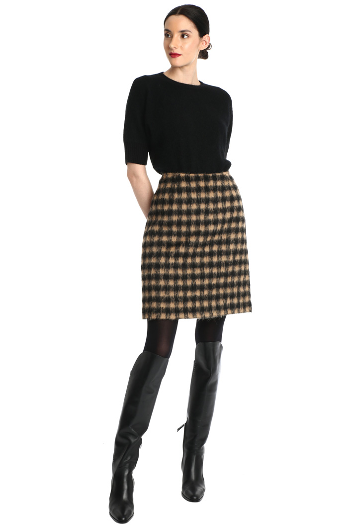 Alpaca wool skirt Intrend