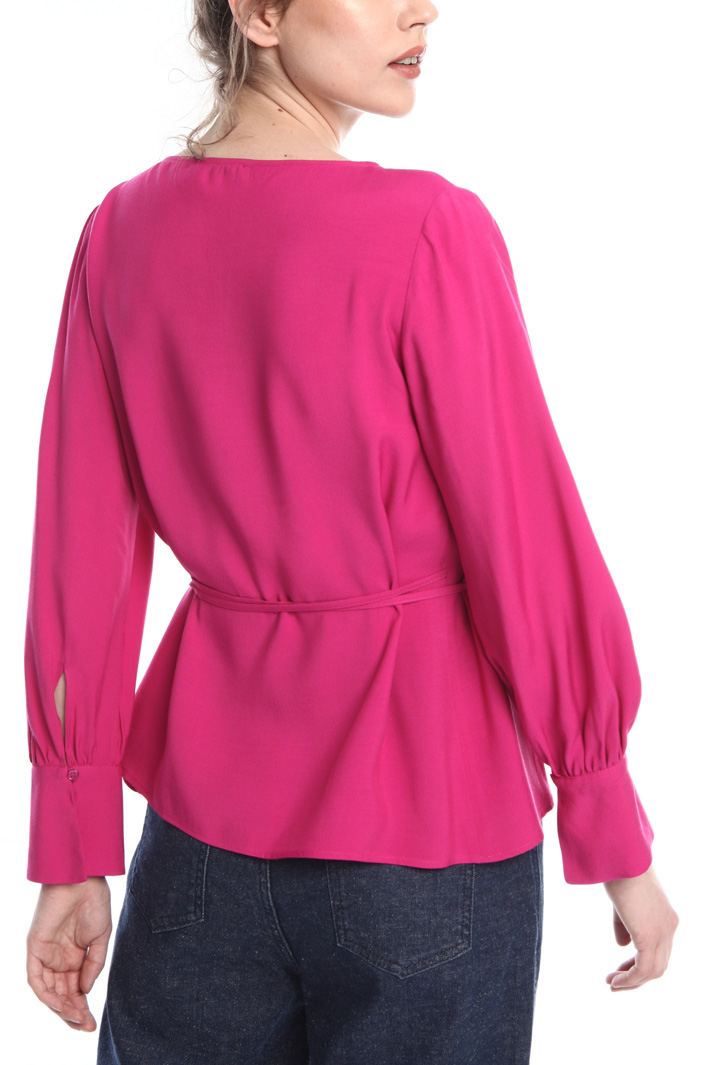 Wrap-up blouse  Intrend