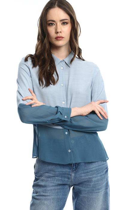 Color block shirt Intrend