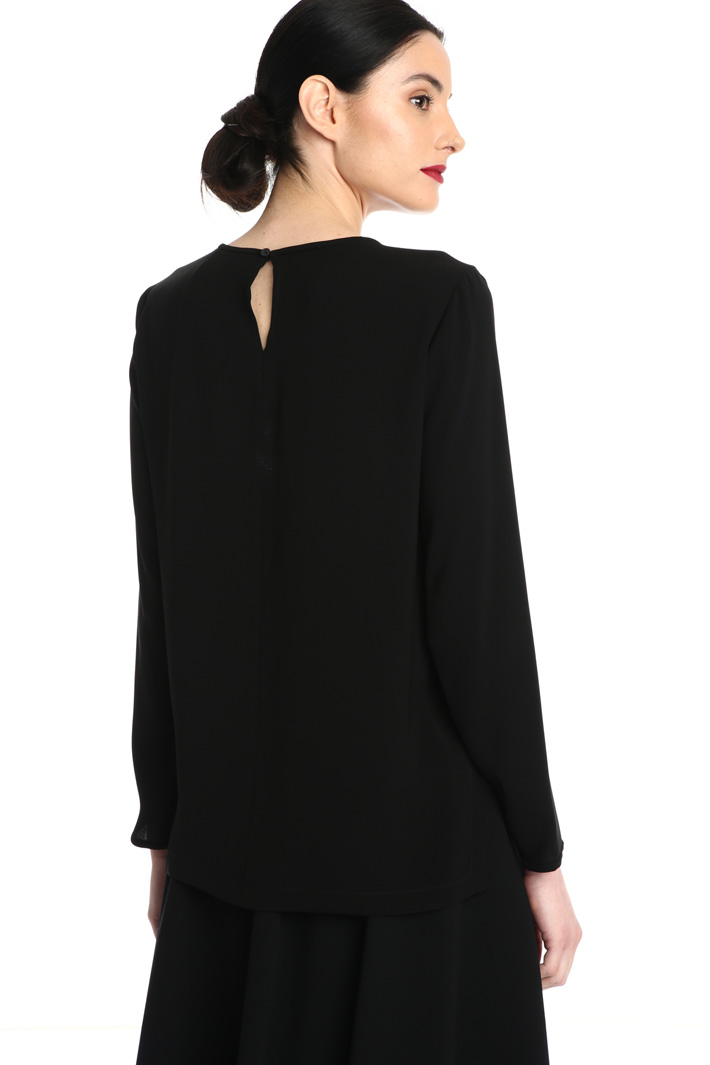 Cady blouse with slits Intrend
